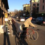 Chiusura ciclabile di via Sabotino