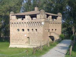 L'anello d'acqua Burana – Rocca di Stellata e destra Po