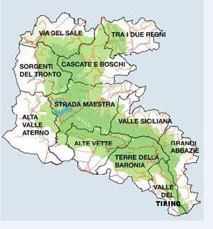 Abruzzo  'Attraverso il Piccolo Tibet'