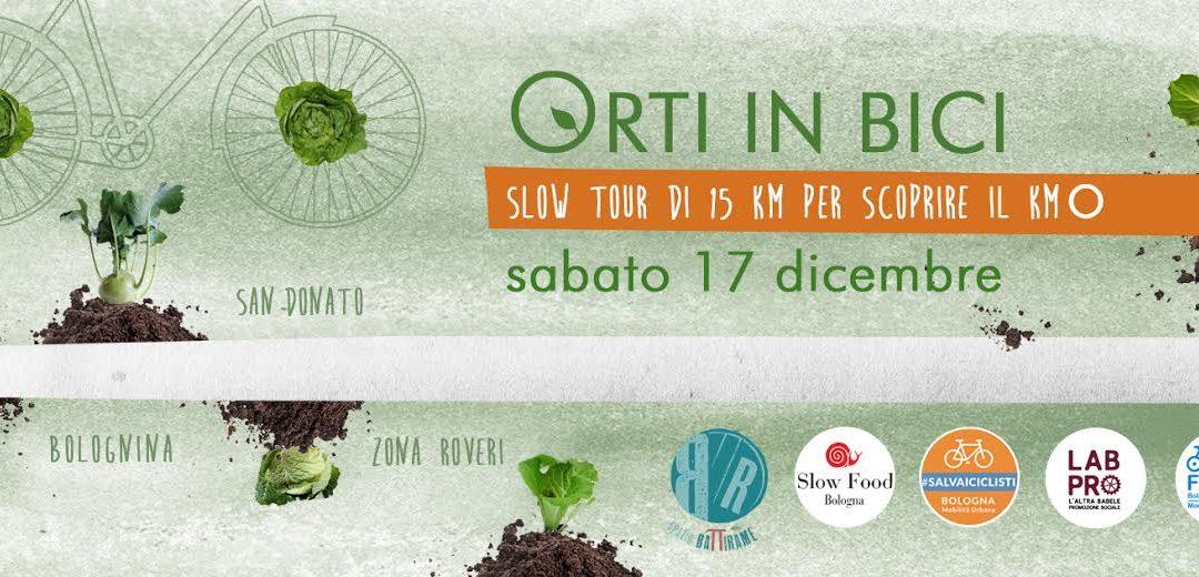 Sabato 17 dicembre 2016 – Orti in bici : Slow tour di 15 km per scoprire il km 0 – Passeggiata