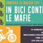 Domenica 28 maggio 2017 - In bici contro le Mafie