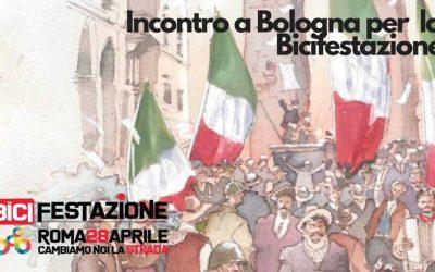 Lunedì 23 aprile – Incontro a Bologna per la Bicifestazione