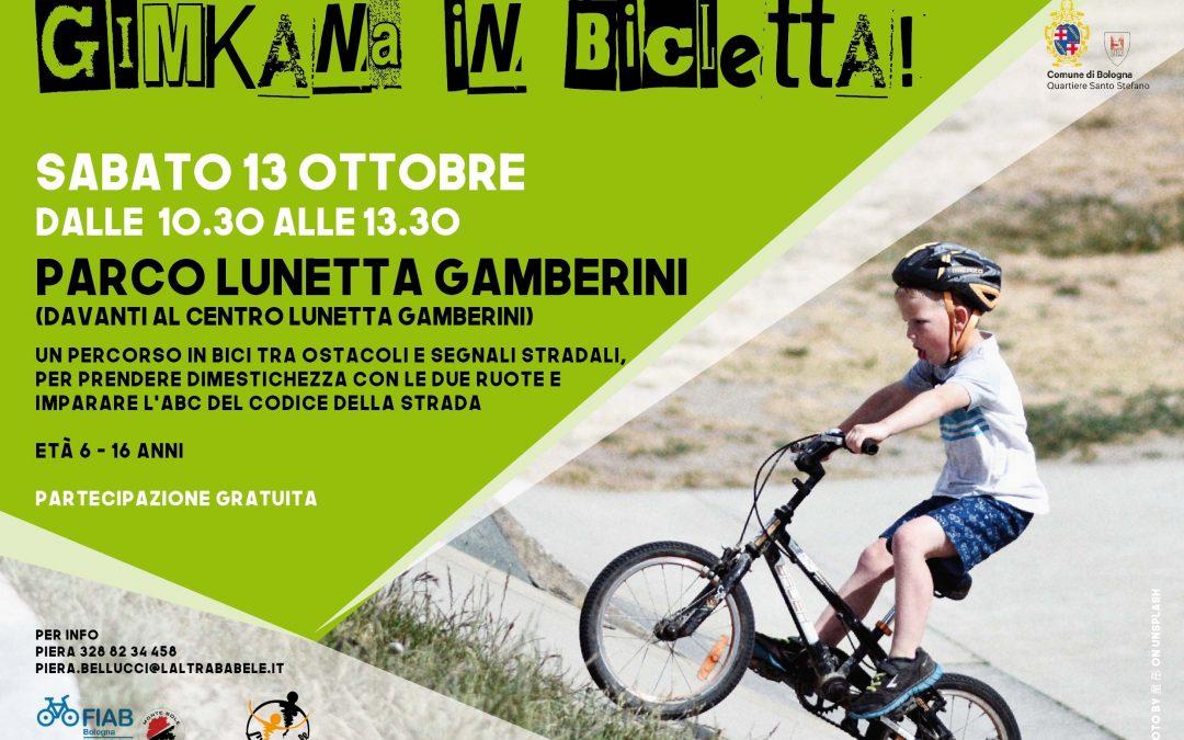 Sabato 13 ottobre – Gimkana in bicicletta