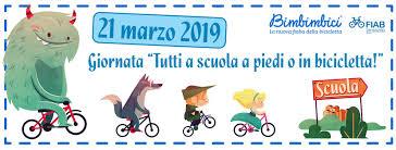 """Giovedì 21 marzo – """"Tutti a scuola a piedi o in bicicletta""""!"""
