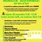 Mobilità sostenibile: dal dire al fare – Convegno