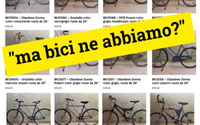 Come funziona il contest delle bici recuperate? ATTENZIONE NUOVI ORARI!!!