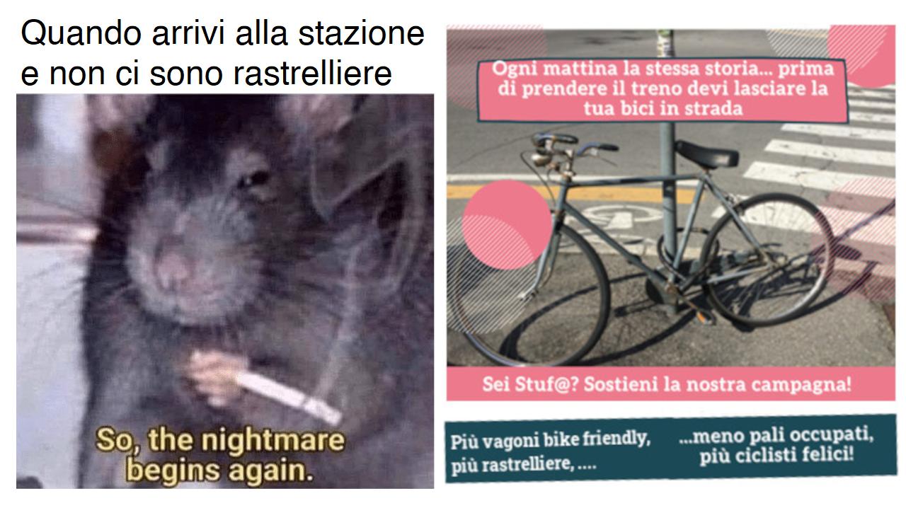 meme rastrelliere stazioni