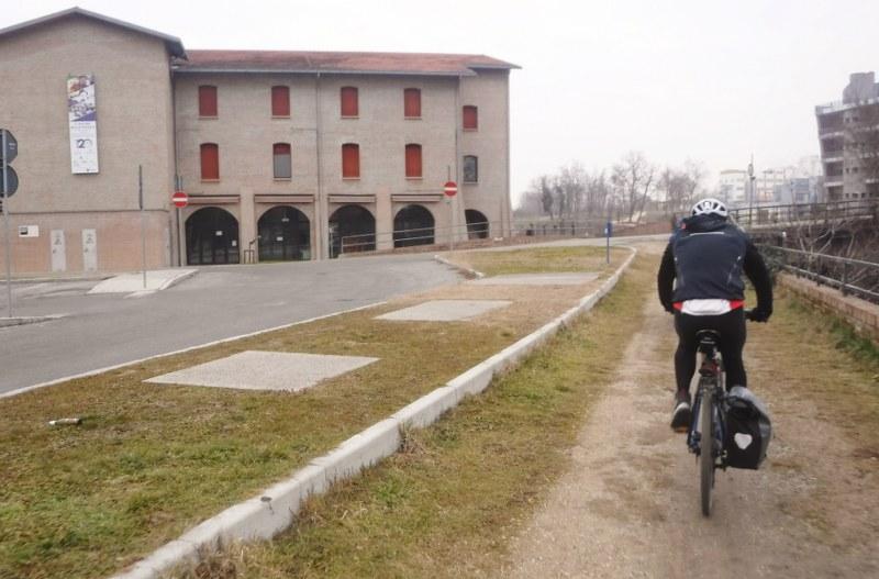 Andare in bicicletta e allenarsi, zona per zona