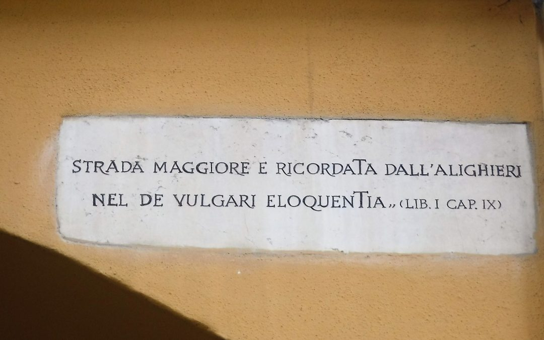 Martedì 18 maggio- Dante a Bologna – Passeggiata