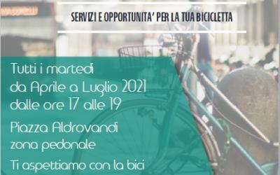 La bici impazza in piazza- tutti i martedì dal 4 maggio al 27 luglio in Piazza Aldrovandi