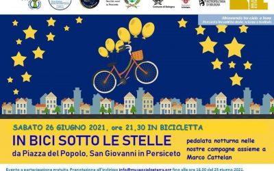 Sabato 26 giugno – In bici sotto le stelle – Passeggiata