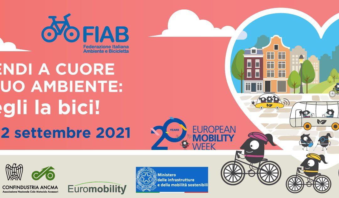 Sabato 18 settembre – Stand in Piazza del Nettuno per la Settimana della Mobilità sostenibile